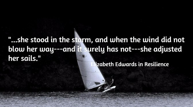 Review of Resilience by Elizabeth Edwards
